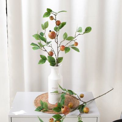 석류가지o 조화 가지 모조 모형 과일 소품 FOFDFT