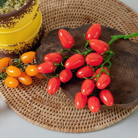 대추토마토o 모조 모형 가짜 과일 주방장식 FOFDFT