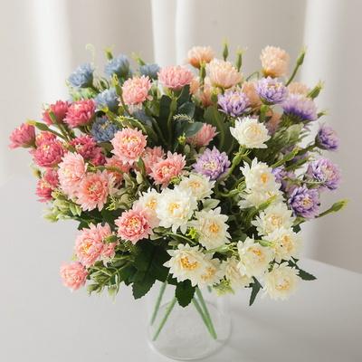 미니소국부쉬 35cm 조화 꽃 인테리어 장식 FAIAFT
