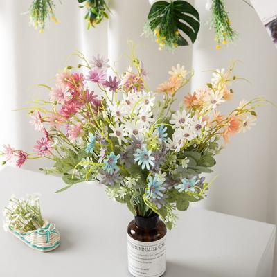 파스텔데이지부쉬 38cm 조화 꽃 인테리어 장식 FAIAFT