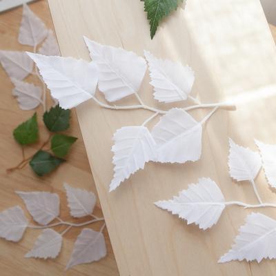 나무 장식 벚꽃 단풍 잎 봉지 인테리어 DIY 6종모음