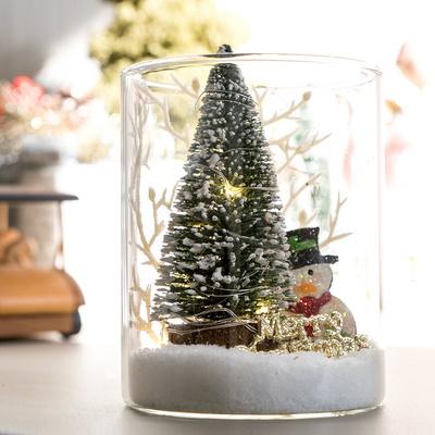 LED베베스노우글라스 10cmR  크리스마스 장식 TRFAHM