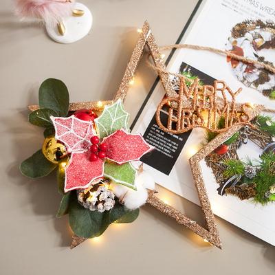 LED미라클로즈골드스타 30cmP 크리스마스 장식 TRFAHM