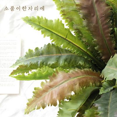 보태니컬 그린 잎 조화 가지 ver.4 - 아비스