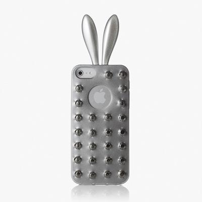rabito 아이폰 5 Stud Case Silver(S)