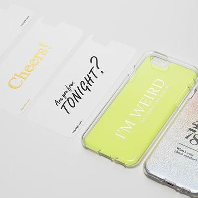 아이폰 6 lnlayer set 3 text set 1 [케이스별도]