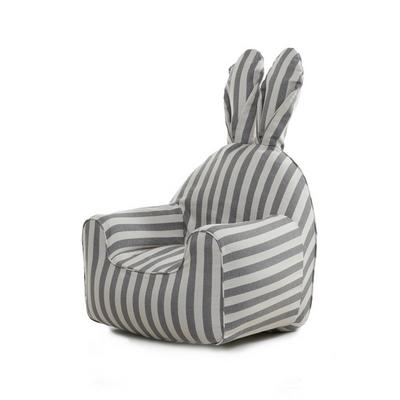 라비또체어 커버 rabito chair small cover - vintage gray stripe