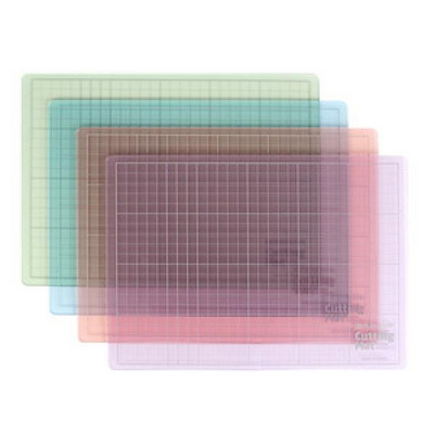 [현대오피스]  칼라투명 컷팅매트 A4