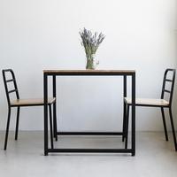 팰리 1라인 R01 철재 식탁 2인용 테이블