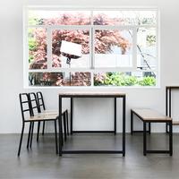 팰리 1라인 R01 철재 식탁 6인용 테이블