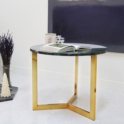 아르마블 원형 3색 대리석 테이블 (3C-360GT)