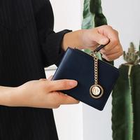 별자리 키링 증정 D.LAB Coin Half wallet  - Navy