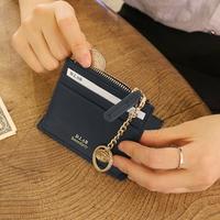 별자리 키링 증정 D.LAB Coin simple card wallet  - Navy