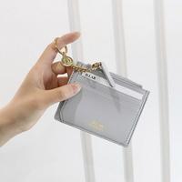 별자리 키링 증정 D.LAB Coin simple card wallet  - Gray