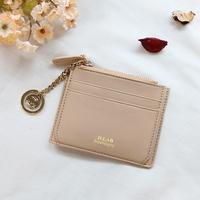 별자리 키링 증정 D.LAB Coin simple card wallet  - beige