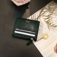 별자리 키링 증정 D.LAB Coin name card wallet  - Green