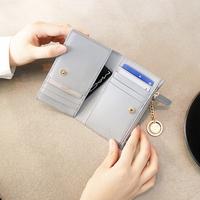 별자리 키링 증정 D.LAB Coin Card Wallet  - Gray