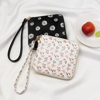 [스트랩 증정] D.LAB Flower zipper wallet - Rose or Daisy