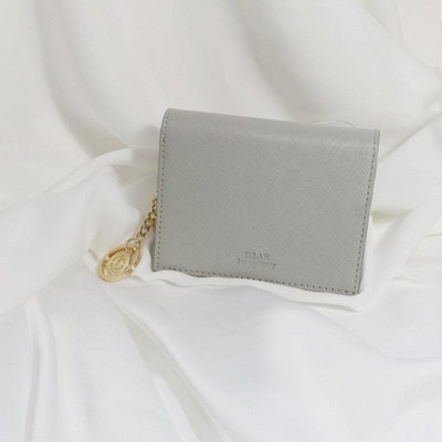 D.LAB Minette Half Wallet - Gray