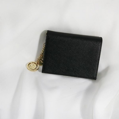 D.LAB Minette Half Wallet - Black