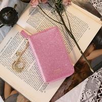 D.LAB Twinkle Zipper Wallet - Pink