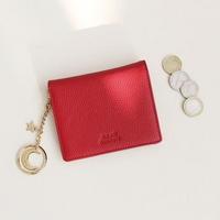 [키링 증정] D.LAB Vivienne Half Wallet - Red