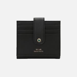 (탄생석지갑) Fiore Half Wallet - Black