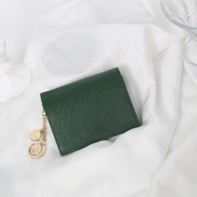 [별자리키링 증정] Minette Half Wallet - Green