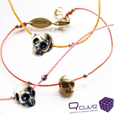 Skull Fine Thread Bracelet