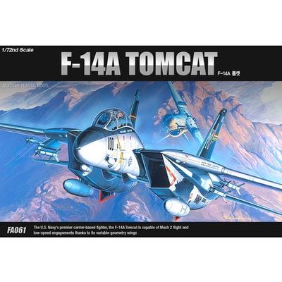 (ACFA061) 1-72 F-14A 톰캣 (12471) - 아카데미과학 밀리터리 비행기 프라모델