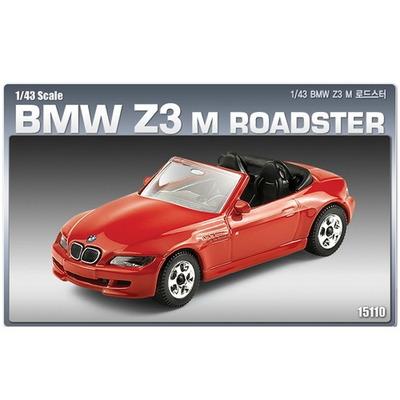 (AC15110) 1-43 BMW Z3 M 로드스터 (도장된 메탈바디) 아카데미과학 자동차 프라모델