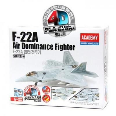 [4D퍼즐]F-22A 랩터전투기(S80148)