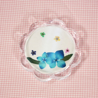 누름꽃 컵받침만들기