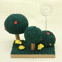 콜크클레이공예-초록빛나무만들기