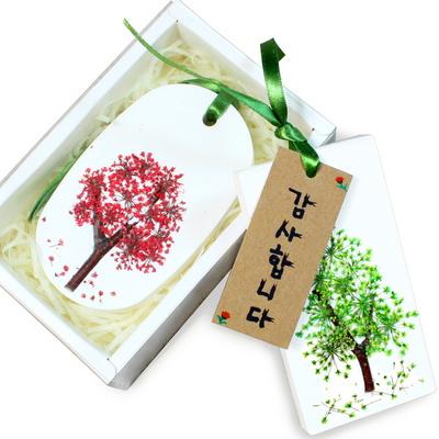 꽃나무 석고방향제 만들기-6개세트