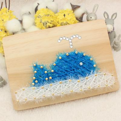 스트링액자(대)만들기-블루고래