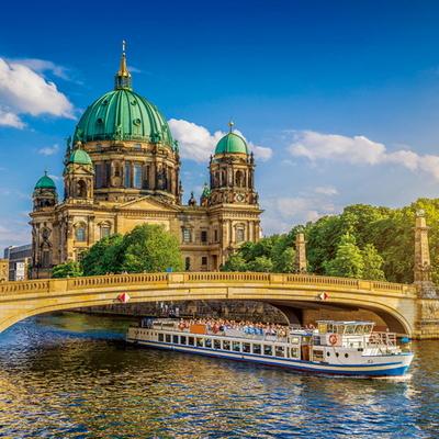 1000조각 직소퍼즐 - 베를린 성당과 슈프레 강 (PK1000-3121)