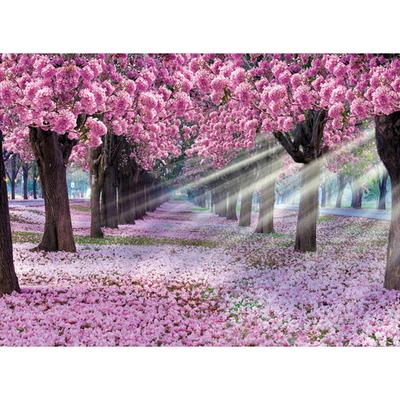 1000피스 직소퍼즐 - 핑크색 꽃 터널 (PK1000-3184)