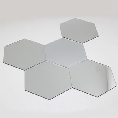 인테리어 아크릴 거울 퍼즐형 벌집형