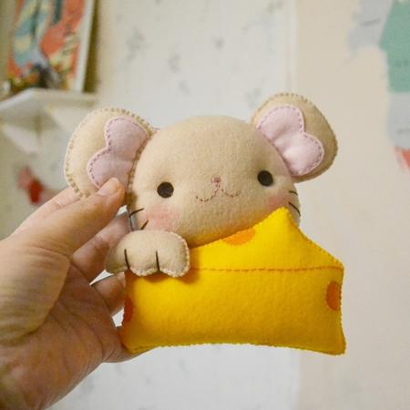 생쥐주차인형 DIY - 삼수니다락방, 10,000원, 펠트공예, 펠트인형 패키지