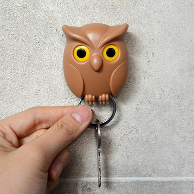 부엉이 자석 열쇠걸이