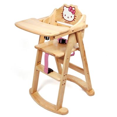 헬로키티 유아식탁의자(핑크)