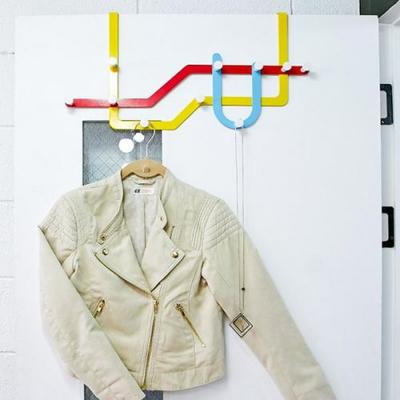 지하철 디자인 도어후크