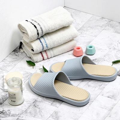 [비스비바] 발이 편한 다용도 투톤 슬리퍼 2종 택1