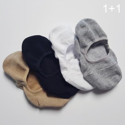 1+1 베이직 코튼 훼이크 삭스 cotton fake socks