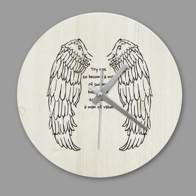 디자인 시계 빈티지 천사의 날개