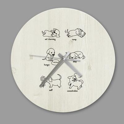 디자인 시계 빈티지 퍼피 6종