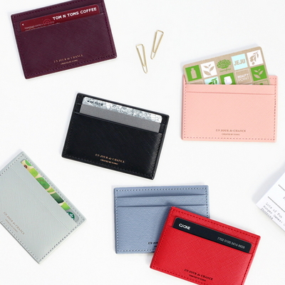 아이코닉 플랫 카드 포켓(iconic)