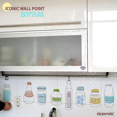 韩国壁贴墙贴|贴纸|简笔画