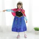 [공주드레스]겨울왕국 안나 실속형 드레스